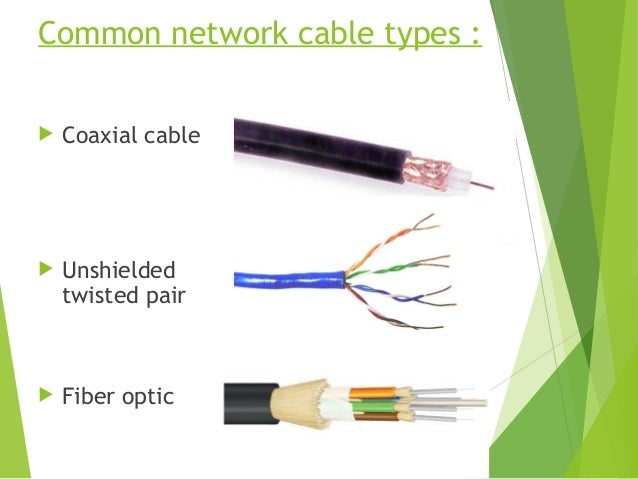 4 Common Network Cable Types