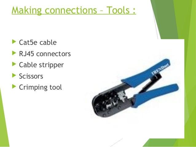 network cabling rh slideshare net home network wiring tools network wiring testing tools
