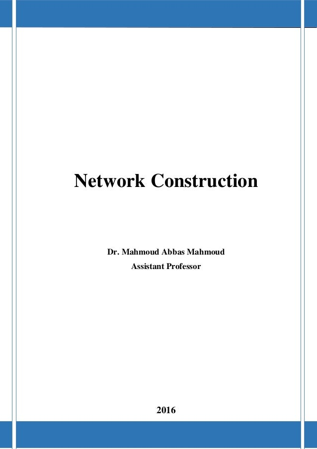 Network construction for Contractors network