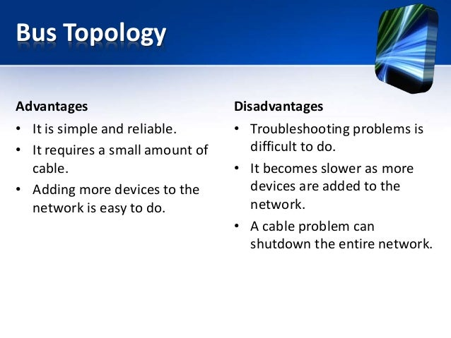 how does the bus topology works information technology essay Essay writing internship tips bus topology  bus topology conclusion the bus networks in spite of its limitations is considered to be the easiest and the.