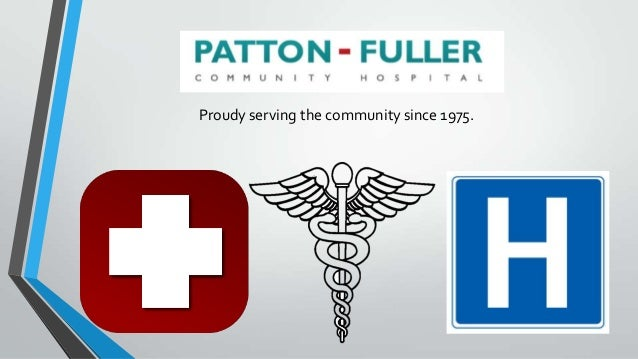 environmental proposal patton fuller community hospital The community of fond du lac is located approximately 85 km west of stony   the proposed project consists of constructing a new roadway to serve as an all.