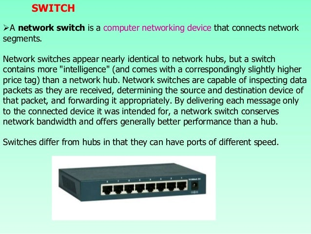 Network Devices (computer networking)