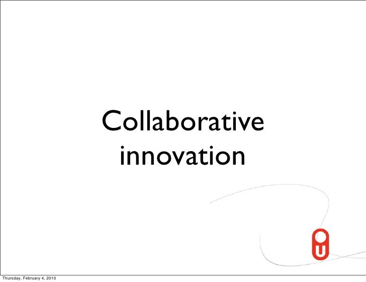 Networked Innovation And Collaboration