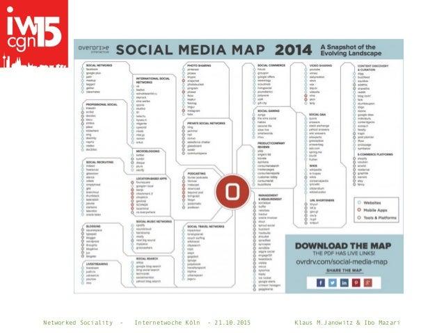 Networked Sociality - Internetwoche Köln - 21.10.2015 Klaus M.Janowitz & Ibo Mazari