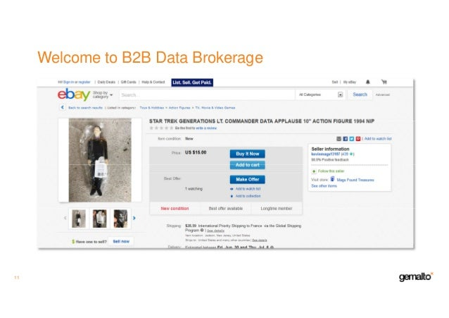 Welcome to B2B Data Brokerage 11