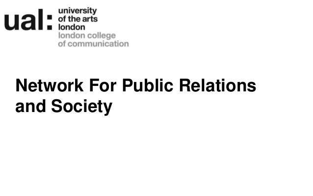 Network For Public Relations and Society