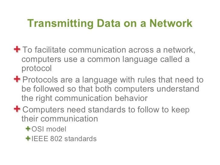 Data Communincation Standards and Protocols