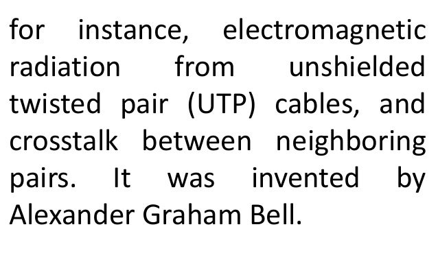 networking - utp and stp cable