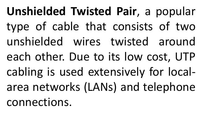 networking utp and stp cable straight and crossover by mark joh rh slideshare net