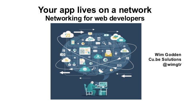 Wim Godden Cu.be Solutions @wimgtr Your app lives on a network Networking for web developers