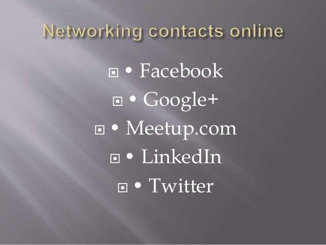  • Facebook  • Google+  • Meetup.com  • LinkedIn  • Twitter