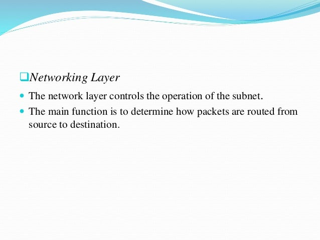 Networking concepts by Sachidananda M H