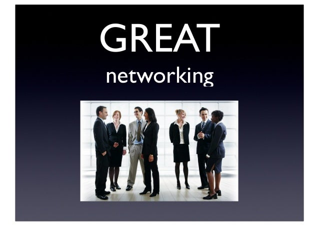 GREAT networking