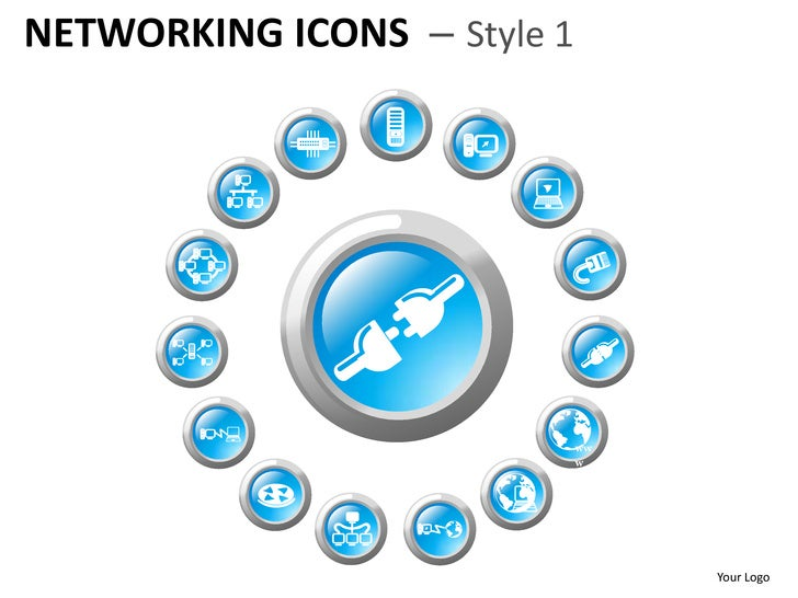 NETWORKING ICONS – Style 1                             Your Logo