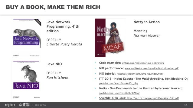 Networking in Java with NIO and Netty
