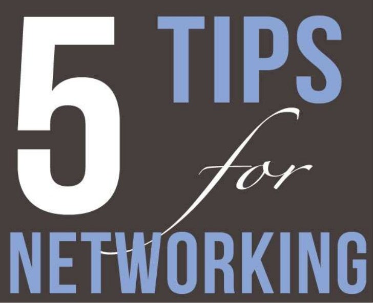 5 Tips for Networking