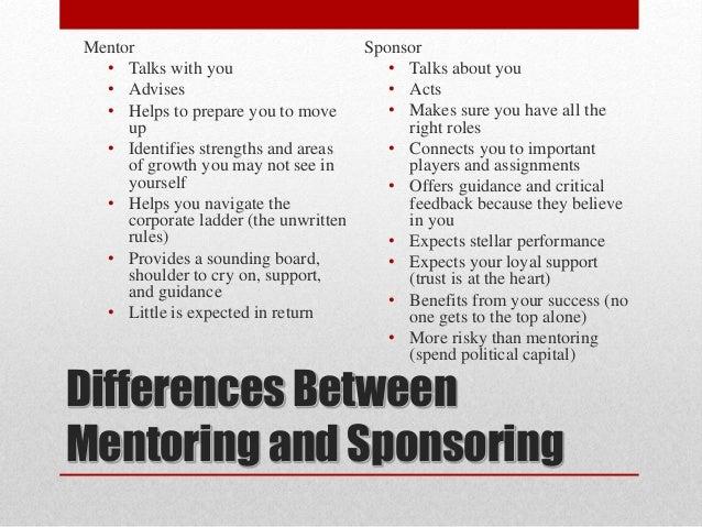 Networking mentoring and sponsorship for Fishing sponsorship application