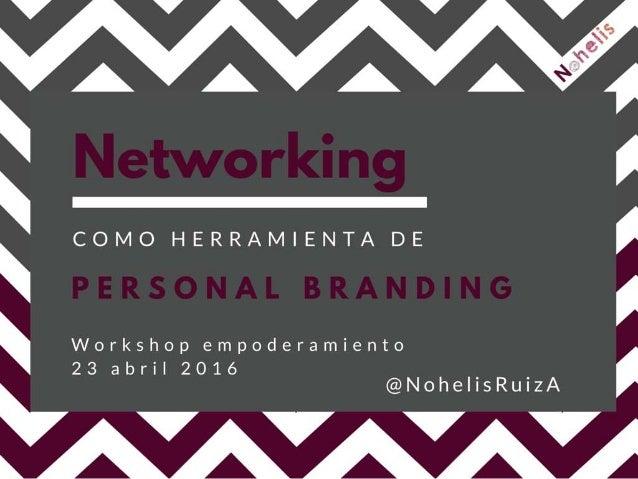 Networking como Herramienta de Personal Branding