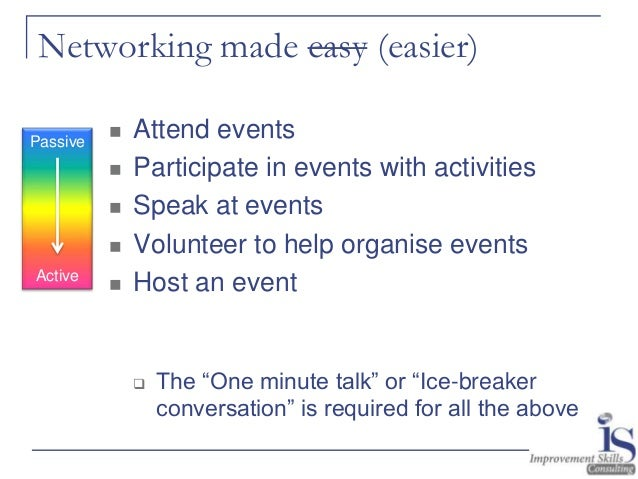 networking workshop exercises