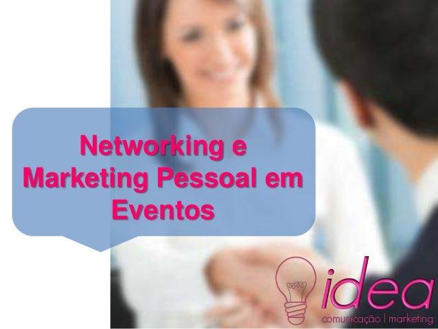 Networking eMarketing Pessoal emEventos