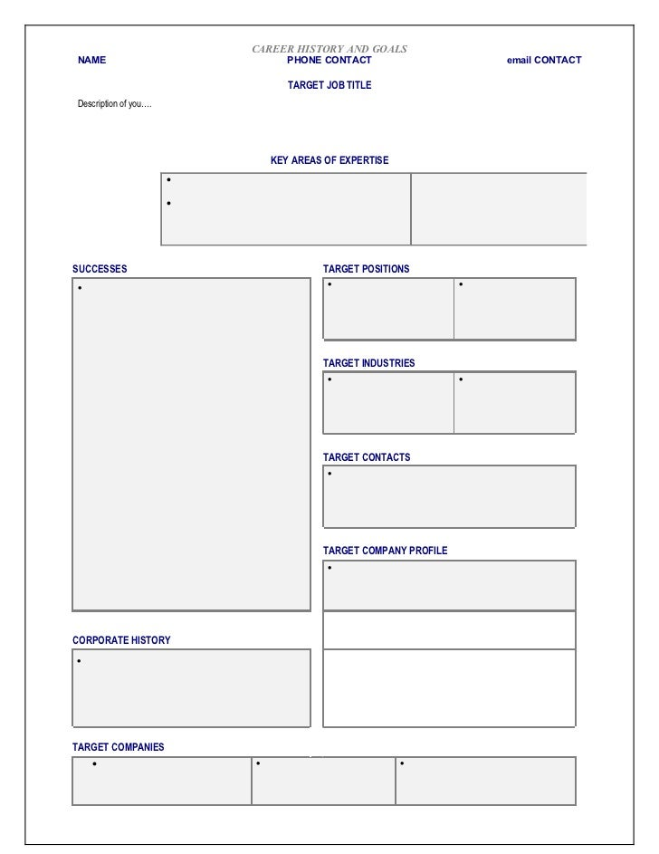 Networking Template Blank