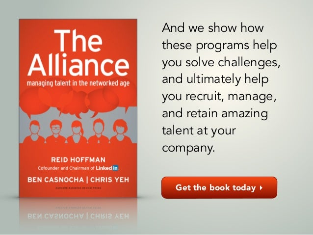 Get the book today ▸ And we show how these programs help you solve challenges, and ultimately help you recruit, manage, an...