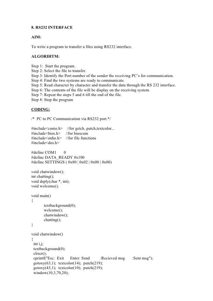 network lab manual rh slideshare net Data Communication System Graphic and Data Communication Networking