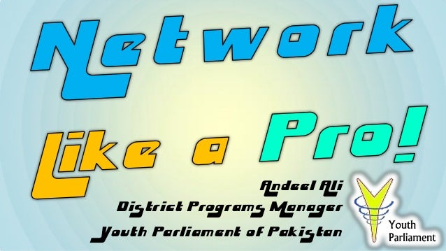 Andeel AliDistrict Programs ManagerYouth Parliament of Pakistan
