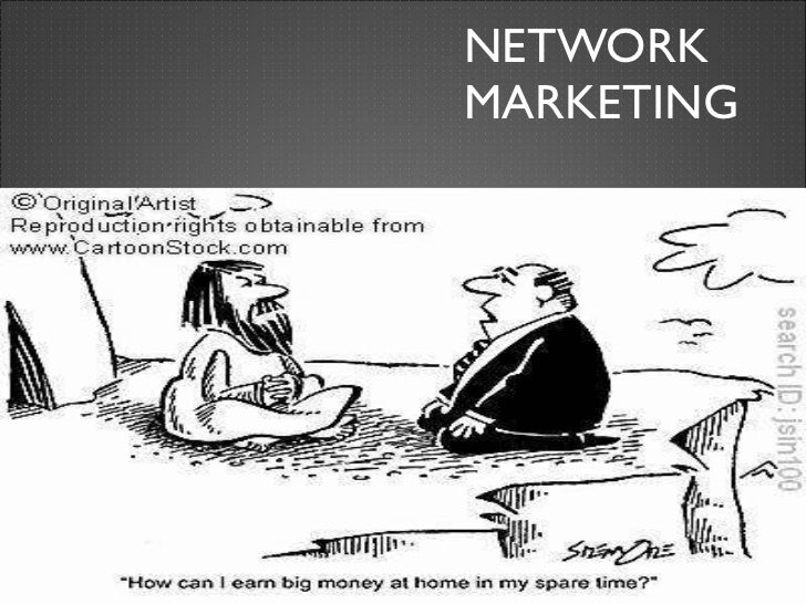 Network marketing is a scam