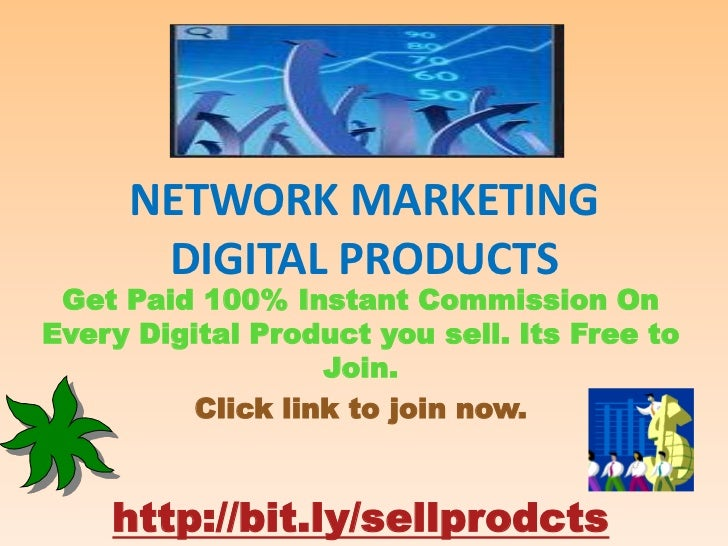 Network marketing digital products for Digital marketing materials