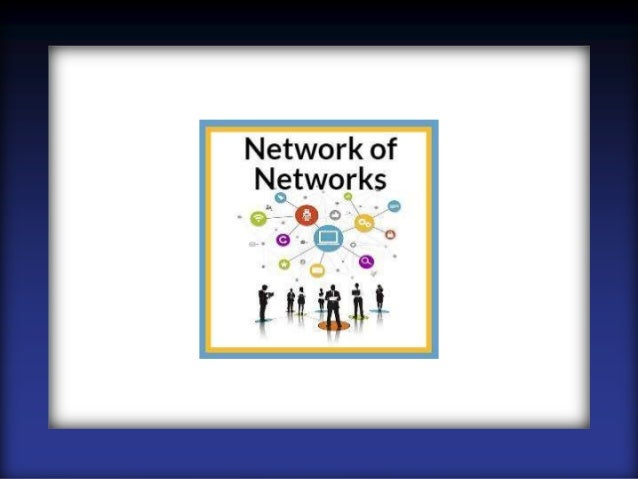 Presentation for the Network of Networks Group in Europe on 11.21