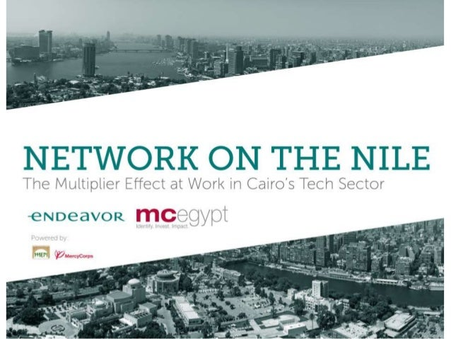 NETWORK ON THE NILE  The Multiplier Effect at Work in Cairds Tech Sector eNDeavoR