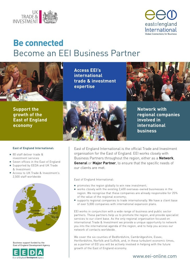 Be connected     Become an EEI Business Partner                                            Access EEI's                   ...