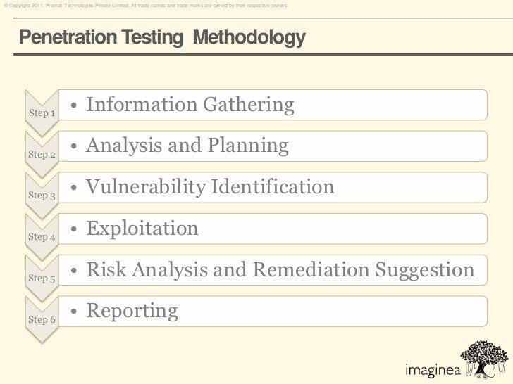 penetration testing plan template - network penetration testing