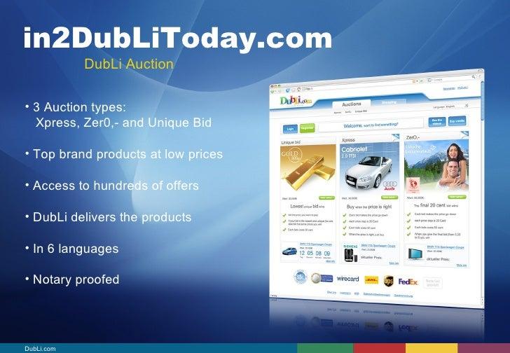 Dubli Business Opportunity Presentation