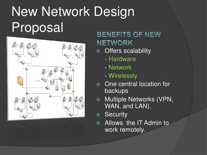 network installation proposal Most networks are now built to allow you to use any cable for any purpose this  creates a more versatile network data (computer cable) voice (phone / fax .