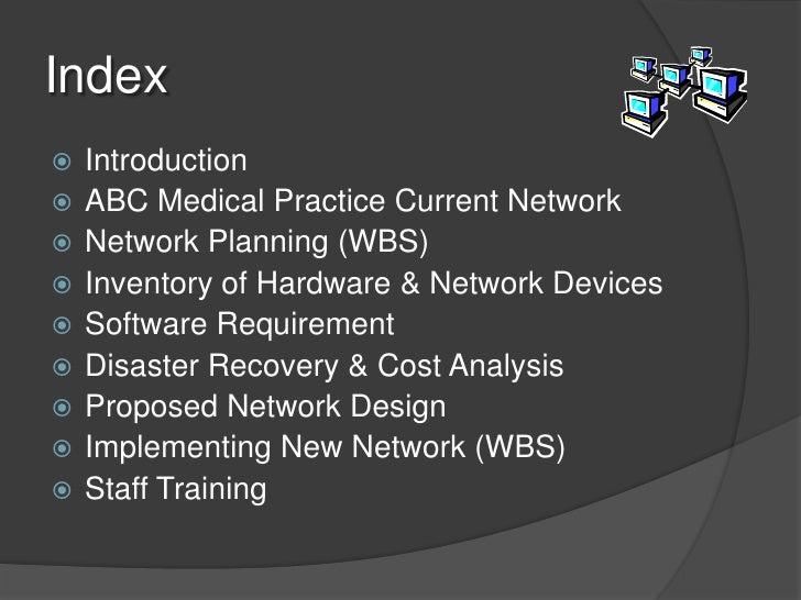 sample network design proposal