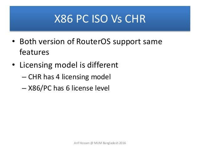 Network Simulation using Mikrotik Router OS CHR (MUM Presentation)