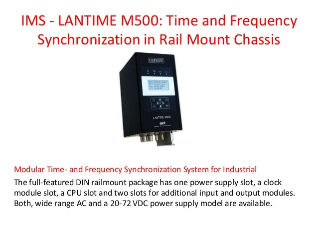 Network time sync for power generation, transmission and