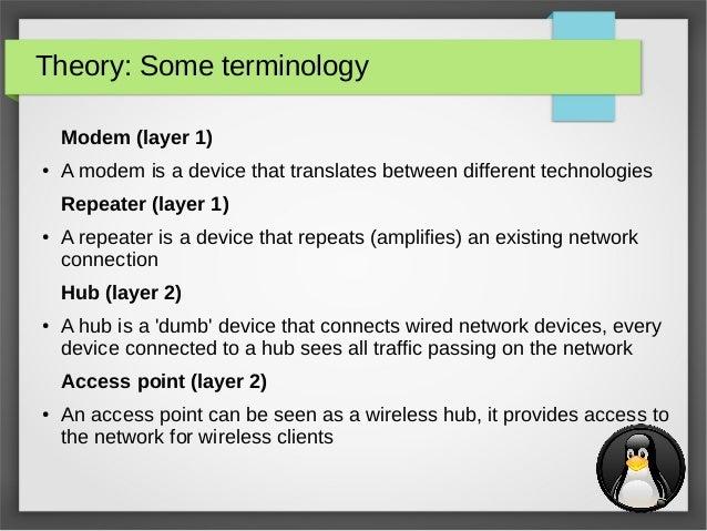 Linux network tools (Maarten Blomme)