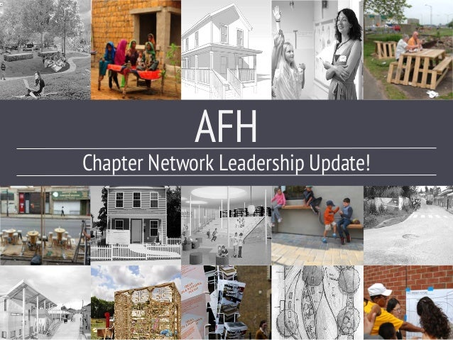 Chapter Network Leadership Update! AFH