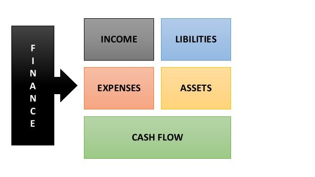 INCOME LIBILITIES EXPENSES ASSETS CASH FLOW F I N A N C E
