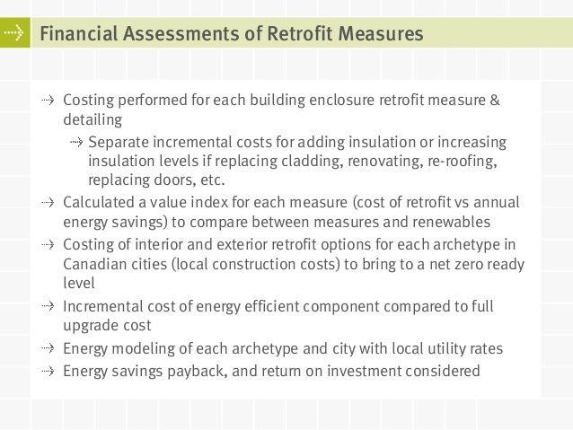 Net Zero Building Enclosure Retrofits For Houses