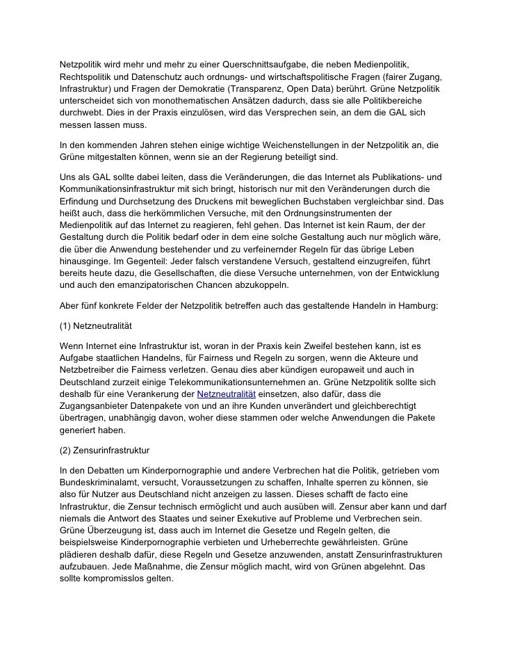 Netzpolitik GAL 2011 Slide 2