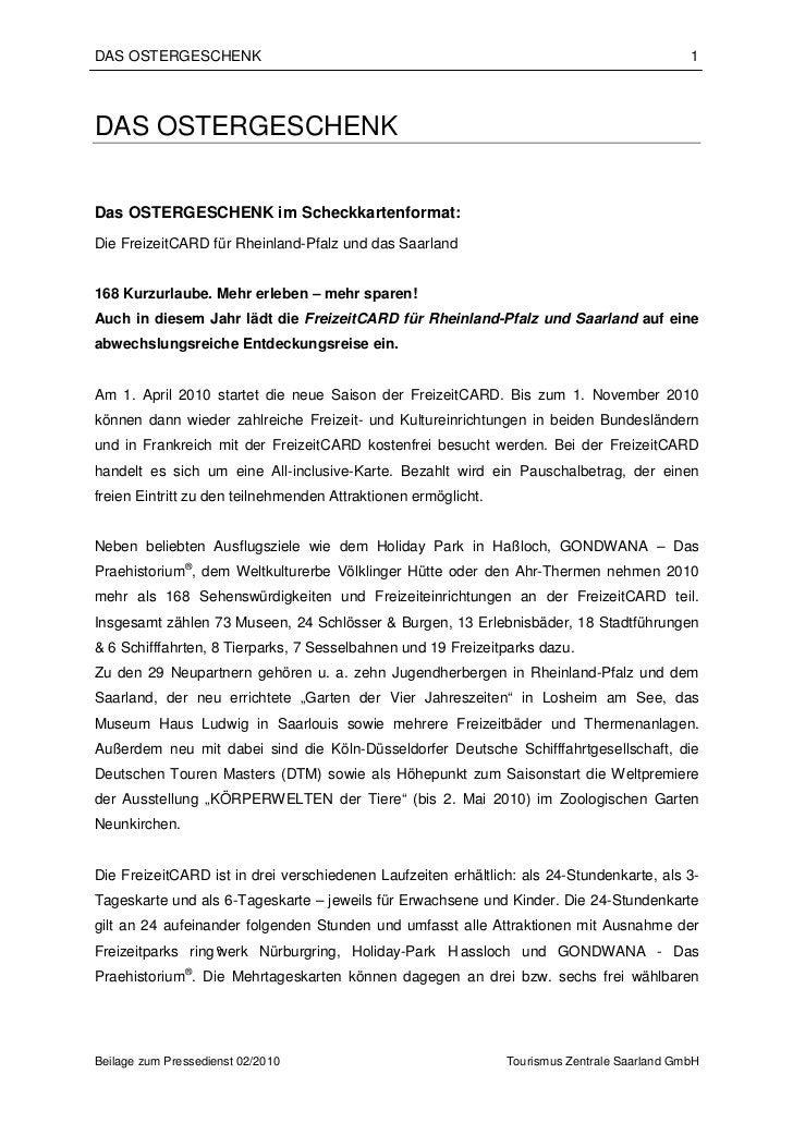 DAS OSTERGESCHENK                                                                             1DAS OSTERGESCHENKDas OSTERG...