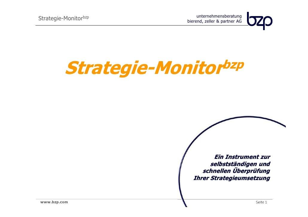 unternehmensberatung                       bierend, zeller & partner AG         Strategie-Monitorbzp                      ...