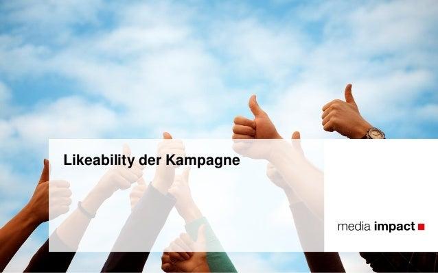 Likeability der Kampagne