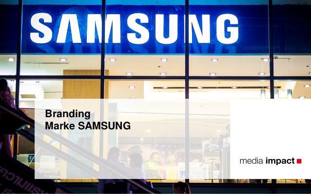 Branding Marke SAMSUNG