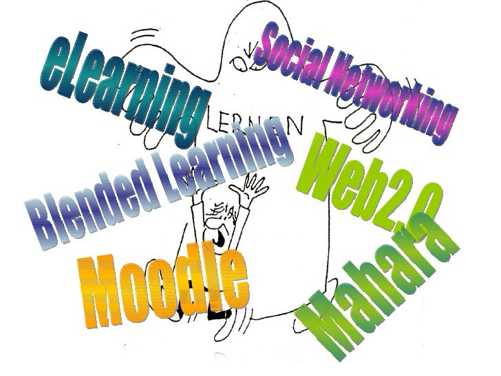 eLearning Blended Learning Moodle Social Networking Web2.0 Mahara