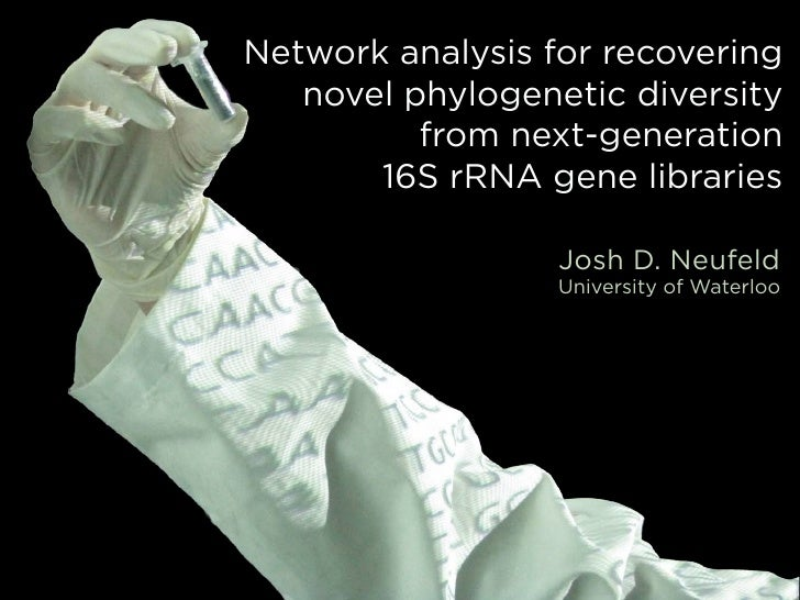 Network analysis for recovering   novel phylogenetic diversity          from next-generation       16S rRNA gene libraries...